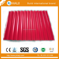 Competitive Price Fashion Color coaed Corrugated Roofing galvanized steel Sheets for Mobil home