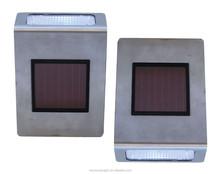 Stainless Steel Solar Wall Light Outdoor Garden Solar Light