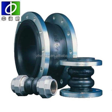 double sphere flexible flange type rubber expansion joints with flange end