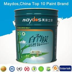 formaldehyde free exterior flat latex paint