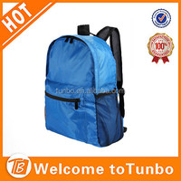 210D foldable promotional backpack for teen girls