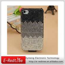 full rhinestone body cover mobile phone pu leather cases