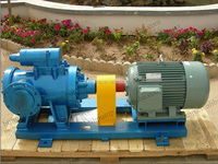 Jacketed heat pump,Double Heating Jacket High Viscosity Rotary Screw Pump,Asphalt Bitumen Screw Pump