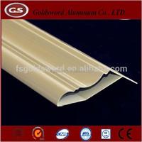 extruded aluminium profile frame for wardrobe