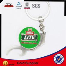 promotional open bottle key chain