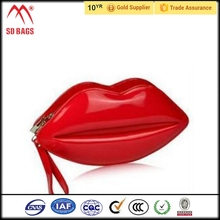 Trending hot products cosmetic bag with mirror , satin cosmetic bag