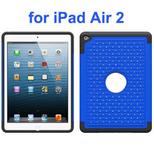 Bling Bling Style Hybrid Shockproof Cover High Quality Case for iPad Air 2