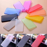 0.5mm For Iphone 6 6S Ultra Thin Plastic Matte Case 10 Colors