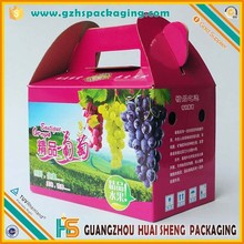 full color corrugated cardboard box for fruit and vegetable