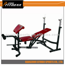 High quality oem zhejiang home gym fitness body exercise best sale GB 7110 weight bench