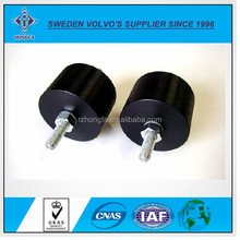 Rubber Vibration Damping with Stainless Steel