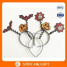 New style halloween party animal spring headband/ halloween canival accessories headband