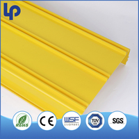 New style PVC slotted type cable tray and trunking