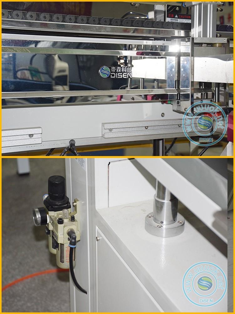 Acrylic wood pcb fabric textile glass digital flat bed automatic silk screen printing machine