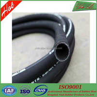 1 inch high pressure rubber hose of wire braided rubber hose pipes