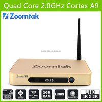 zoomtak t8 direct tv set top box amlogic s802 android 4.4 watch adult channels