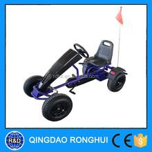 4-wheel Cool purple pedal GO KART