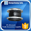 DN15-DN1500 tube end cap axial compensator square rubber bellows