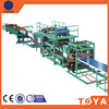 China professional eps sandwich wall and roof panels prefab house production machinery