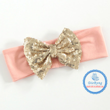 Cute Kids Baby Girls headband Toddler Infant Bowknot Headbands Bows Band hair accessories