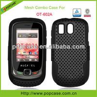 pc+silicone cases for alcatel ot-602a phone covers