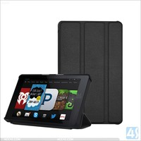 Smart leather case cover for amazon kindle fire hd6