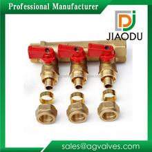 Alibaba china hotsell brass stop valve manifold