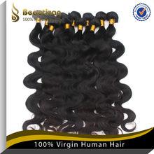 2014 hot sales virgin cheap human hair extensions shanghai