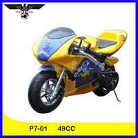 2014 New Model Two Wheel Pocket Bike 49cc for Children (P7-01)
