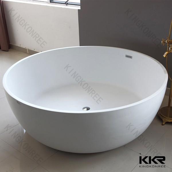 Round Bath Tubs : solid surface wholesale bathtubs , round freestanding bathtub