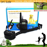 Low Price Remote Control Electric Shock Collar Pet Training Products Waterproof