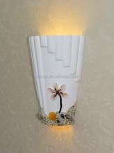 Seaview plaster wall lamp decoration