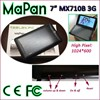 7 inch android phone dual sim card dual core buy direct from china manufacturer MTK8312 tablet pc