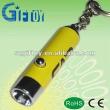 LED car logo key chain