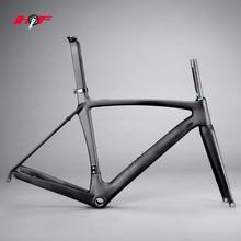 2014 Aero design Di2 road bike frame carbon,T800 700c full carbon road bicycle frame