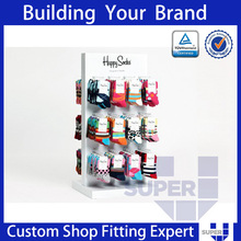 Socks display rack hanging metal socks display stands