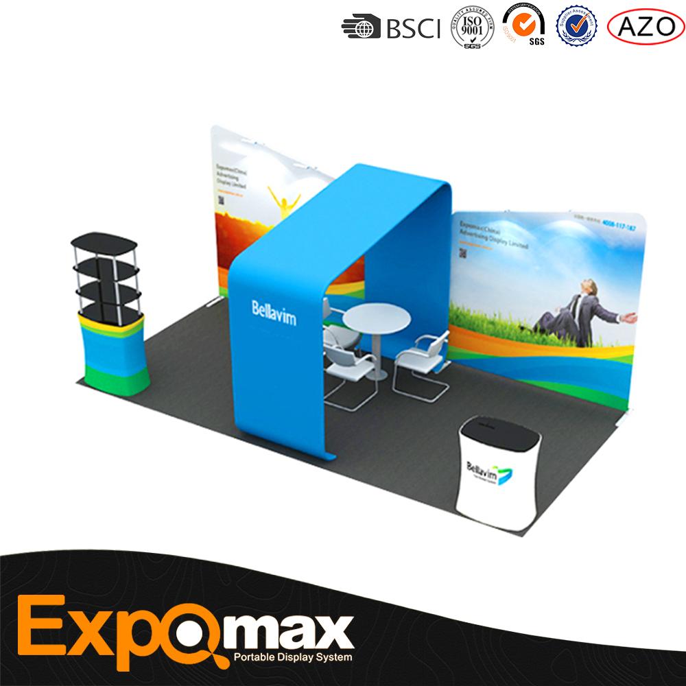 10x20 슈퍼 인기있는 휴대용 캔톤 페어 전시회 디스플레이 부스 전시 스탠드