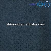 Dark Black Embossed Hole Pattern 100% PVC Automotive Upholstery Leather