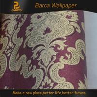 Beautiful brilliant modern self adhesive 3D flowers wall paper