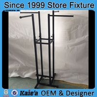 clothing store 4-way display stand
