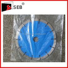 turbo type diamond saw blade for concrete green