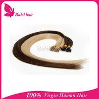 beauty brazilian hair product alibaba express nano ring human hair extension