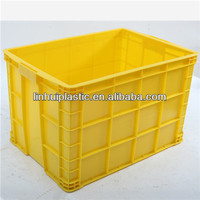 Stackable plastic vegetable bins