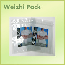 New listing pvc bags with zip lock for clothes