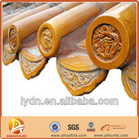 Traditional chinese style house clay roofing materials