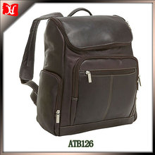 2015 women's men's PU leather women men large capacity travel duffle gym bags leather backpack