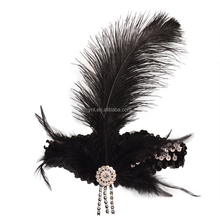 2015 Hot Sell Black hair styles Charleston Headbands, Halloween accessories for women