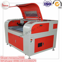 Deruge Special Design for Shoes model Making Laser Cutting Machine Syngood with Scanning