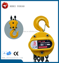 Material lifting hand operated chain hoist from China