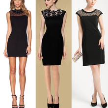 2015 latest design lace decorated formal dress high fashion wholesale midi office lace dresses for summer